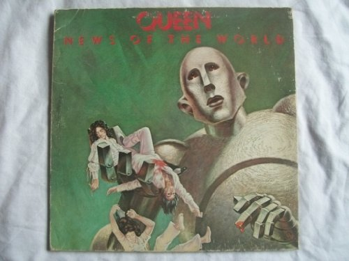 QUEEN News of the World LP 1977