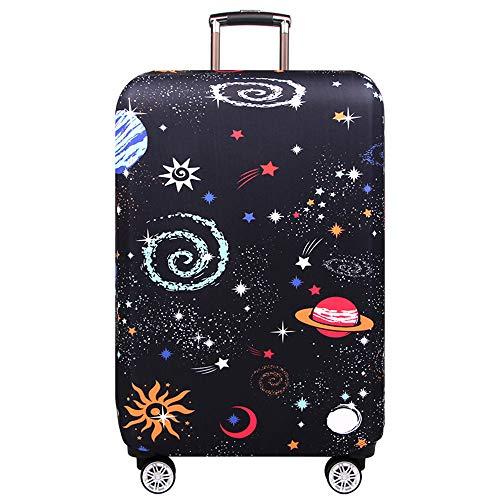 capacit/é de 18-20 cm Baggage Flower Unicorn Housse /à Bagages Lavable et Anti-Rayures Protecteur de Valise de Voyage