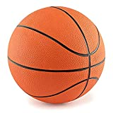 7' Mini Rubber Youth Basketball - Kids Basketball For Indoor Or Outdoor Playground Hoops - Great Grip - By Edgewood Toys