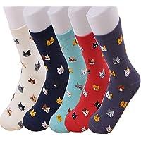 TMEOG Calcetines Mujer, calcetines de algodón calcetines térmicos Adulto Unisex Calcetines (N)