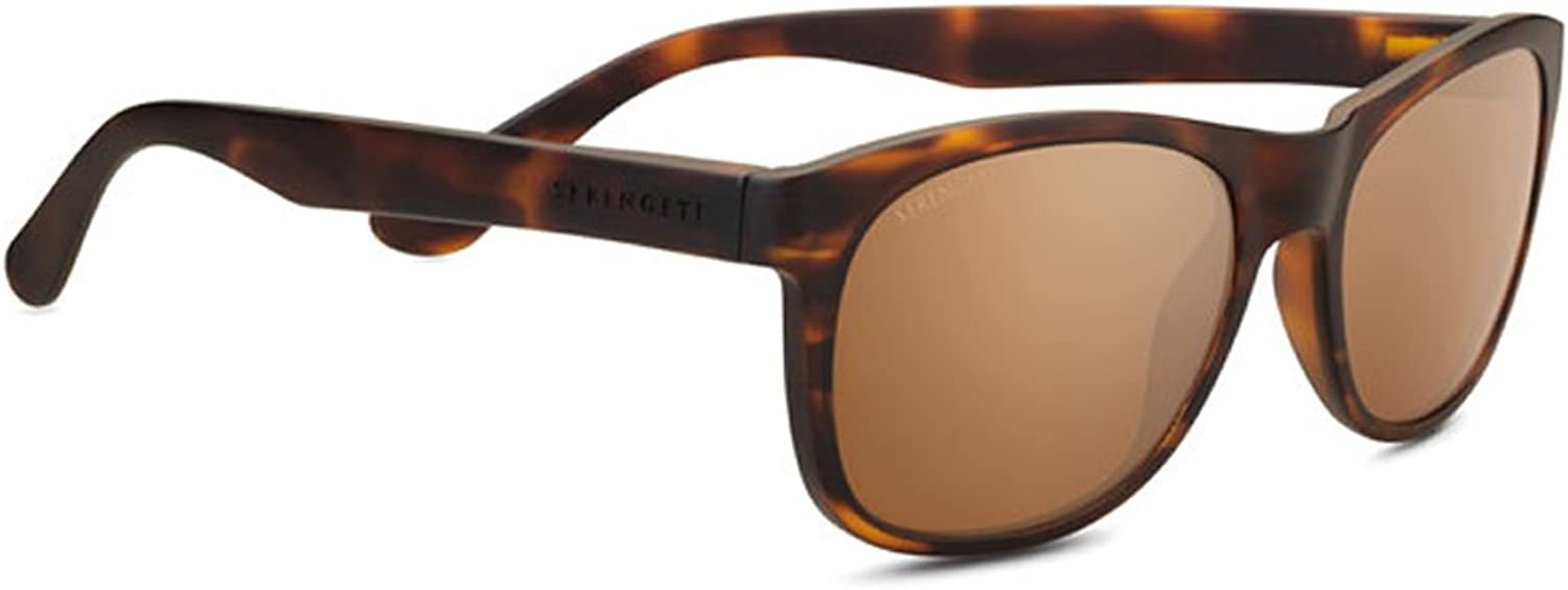 Serengeti Anteo Sunglasses Matte Tortoise Medium Large Unisex
