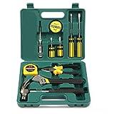 PetHot 12PCS caja de herramientas básica profesional DIY set con destornilladores diarios Fix repair Home mano llevar hogar