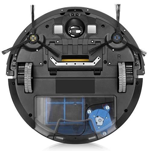 ZACO V85 Saugroboter mit Wischfunktion, App & Alexa Steuerung, 8cm flach, automatischer Staubsauger Roboter, 2in1 Wischen oder Staubsaugen, für Hartböden, Fallschutz, mit Ladestation - 10
