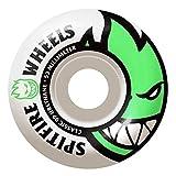 Spitfire Bighead - Ruedas para monopatín, dureza 99, paquete de 4 ruedas (53 mm, Big Head verde)