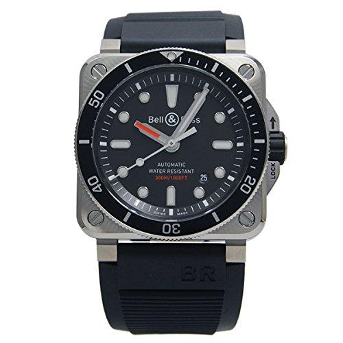 [ベル&ロス] BELL & ROSS 腕時計 BR03-92 ダイバー BR0392-D-BL-ST/SRB 自動巻き メンズ 新品 [並行輸入品]