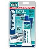 Silicone Acetico bianco con protezione antimuffa 60 ml