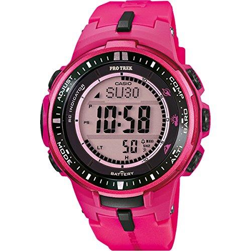 Casio PRW-3000-4BER 4971850994602 - Reloj, Correa de Resina Color Rosa