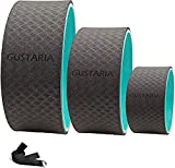 GUSTARIA Yoga Wheel Set, Sports Yoga Wheel Roller for Back Pain,...