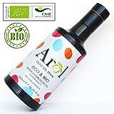 Olio Extravergine di Oliva BIOLOGICO 500 ml - Certificato Ecologico Europeo - 100% Naturale - Produzione Limitata - Gusto Delicato - Estrazione a Freddo - Arol