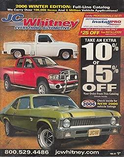 J C Whitney Automotive Parts Catalog Winter 2006 Tryck Jeep Car RV VW