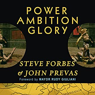 Power Ambition Glory audiobook cover art