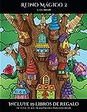 Colorear (Reino Mágico 2): Este libro contiene 40 láminas para colorear que se pueden usar para pintarlas, enmarcarlas y / o meditar con ellas. Puede ... libros en PDF adicionales. Un total de m (5)