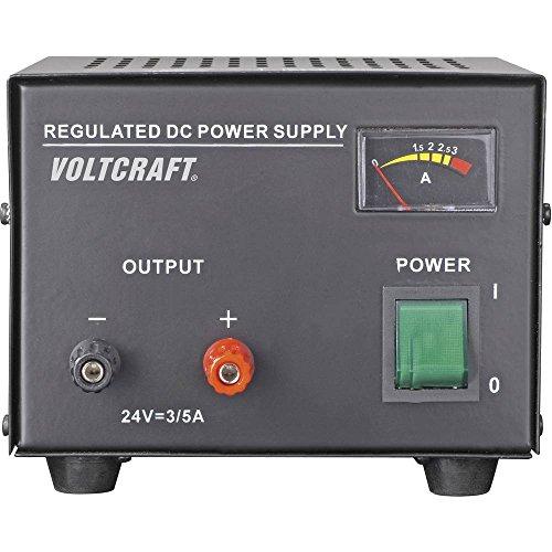 Voltcraft FSP-1243 Labornetzgerät, Festspannung 24 V/DC (max.) 3 A (max.) 72 W Anzahl Ausgänge 1 x