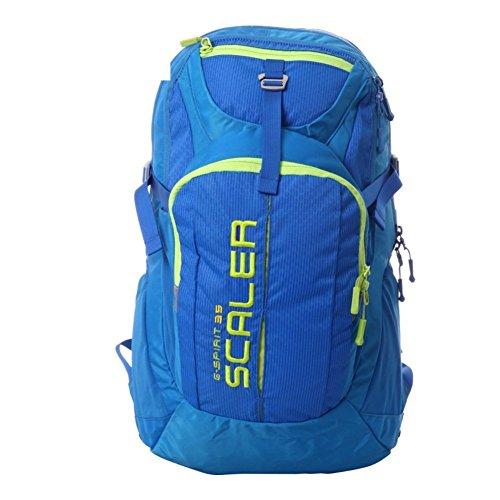 Sincere® Package / Sacs à dos / Portable / Ultraléger extérieure alpinisme sac à dos / extérieur sac de randonnée Voyage / avec auvent bleu 35L