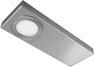 Evotec TAIN-CF CS LED onderbouwlamp, set van 3/3000 | 4000 K / 3x3|4W / 3x300|400 lumen/ColorSwitch, aluminium, 12 W, tran...
