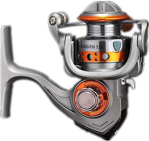 GJJSZ Carrete de Pesca Ultraligero y Suave, Extra Potente, para Pesca de mar o Agua Dulce, Carrete de Pesca rápido (Color: Gris, tamaño: 150), Gris, 150