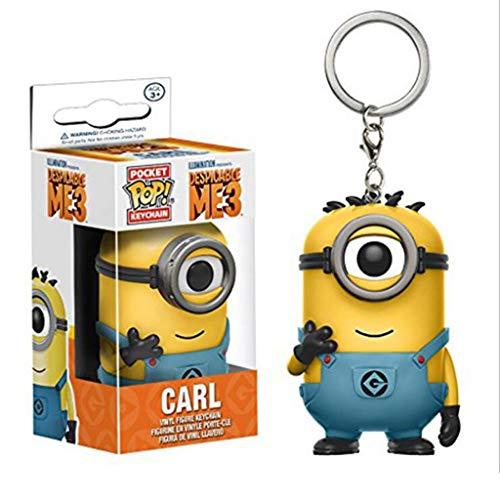 """Luckly77 Carl Schlüsselanhänger """"Despicable Me"""" Minions Exquisite Abbildung POP Sammler Spielzeug for Kinder"""