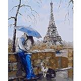 fdgdfgd Peinture et Peinture parchemin Peinture sans Cadre Rouge Tour Eiffel décoration de la Maison Art Mural