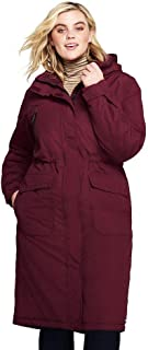 4c4ba6d0f7e Lands  End Women s Plus Size Squall Insulated Long Stadium Coat