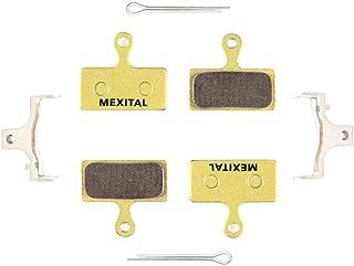 MEXITAL 2 Pares Pastillas Freno Disco sinterizado para Shimano Deore M610 M615 M6000 SLX M666 M675 M7000 XT M785 M8000 Saint BR-M820 XTR M960 M985 M987 M988 M9000 Alfine BT-S700 RS785 RS685