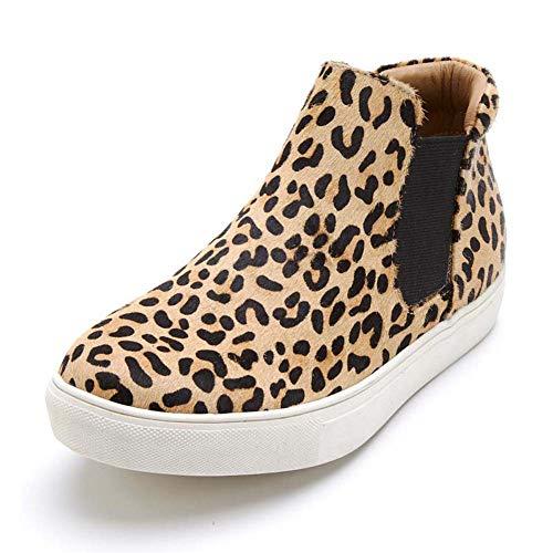 Matisse Womens Harlan Slip On Leopard Sneaker - 8.5