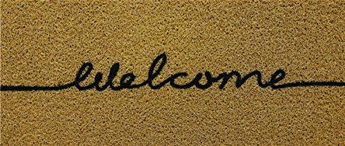 Kapazi 01vilonwel - Capacho Vinil Long Welcome, Ouro