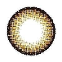 フラワーアイズ ガーリー R flowereyes Girly R 1month マンスリー【1箱1枚入】 14.2mm カラコン (リコリスブラウン/-2.50)