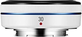 Samsung NX 30mm f/2.0 Camera Lens (White)
