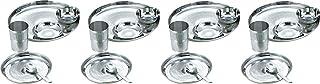 Neelam 8904052702016 Dinner Set Premium -24 Pieces, Silver