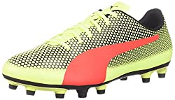 Fizzy Yellow Red Blast And Black PUMA Men's Spirit FG Soccer Boot