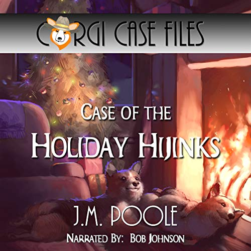 Case of the Holiday Hijinks audiobook cover art
