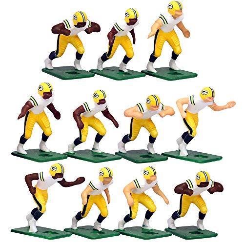 Green Bay PackersAway Jersey NFL Action Figure Set