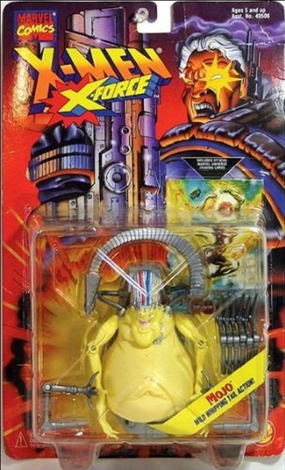 XMen XForce Mojo with Wild Whipping Tail Action Variant Packaging by XForce
