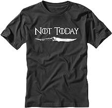 Game of Thrones Arya Not Today Black T Shirt