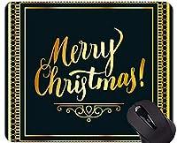 滑り止めのゴム製ゲーム用マウスパッド、クリスマスのゴム製マウスパッドのマウスパッドUS0184