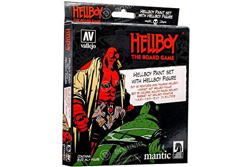 Vallejo 070187 Hellboy - Juego de construcción de maquetas, diferentes colores ,...
