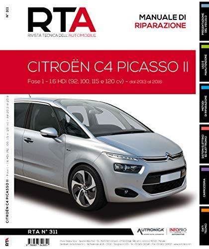 Citroën C4 Picasso II. Fase 1. 1.6 HDi (92, 100, 115 e 120 cv). Dal 2013 al 2016