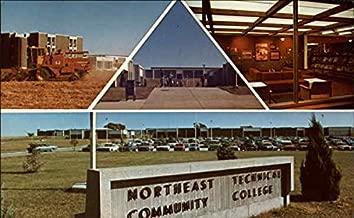 Northeast Technical Community College Norfolk, Nebraska Original Vintage Postcard