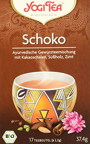 Yogi Tea Schoko Bio, 3er Pack (3 x 37,4 g)