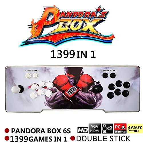 Pandora's Box 6s 1399 in 1 gameconsole video HD Retro met HDMI/VGA USB console dubbele boog richtingaanwijzer console Arcade