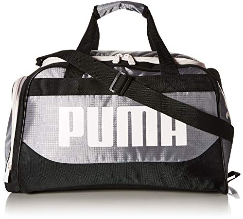 PUMA Women's Evercat Dispatch Duffel, Grey/Black, OS