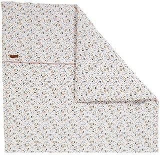 80 x 80 cm LITTLE DUTCH 0929 Kinderwagen Kissenbezug waves beige Gr/ö/ße