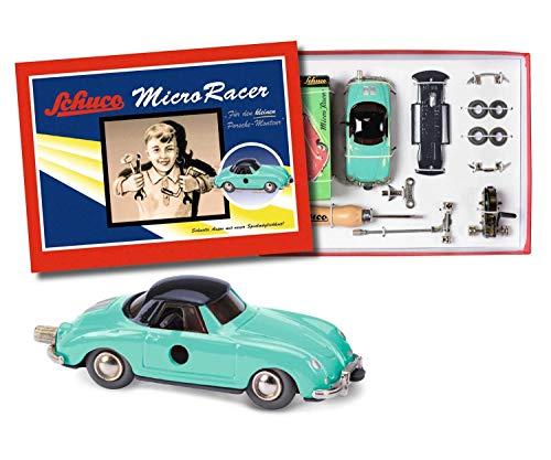 Schuco 450177400 - Micro Racer Porsche 356 BS, Montagekasten