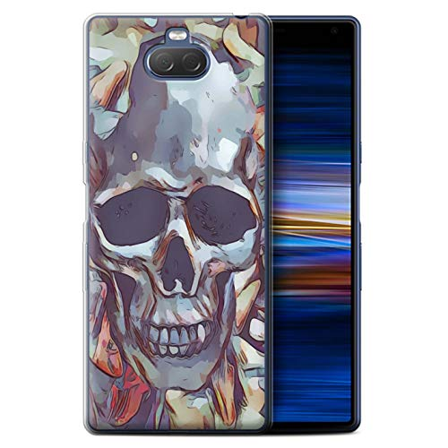 Stuff4 Phone Case/Cover/Skin/SXP-GC/Day of The Dead Festival Collection Sony Xperia 10 Plus 2019 Calacas schedel masker
