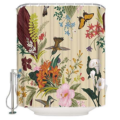 cortinas cocina mariposas