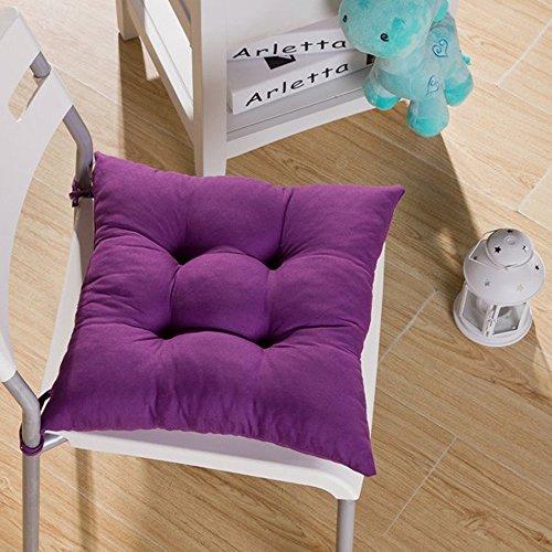 Tia-Ve Soft Sedia Cuscino Seat Pad Sedile Cuscino Cucina Giardino da Pranzo Sedia Viola Profondo