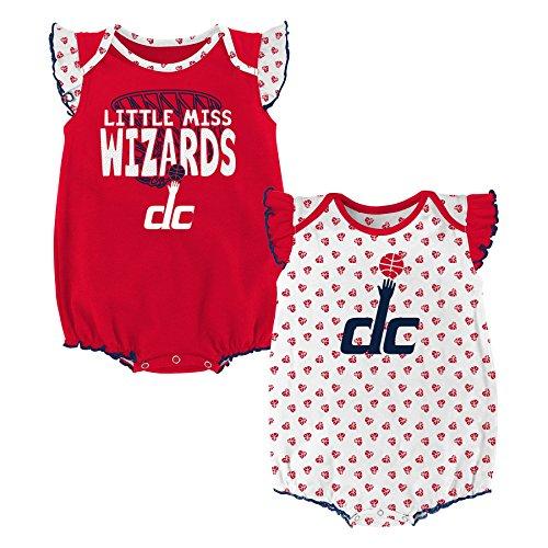 "NBA Newborn & Infant ""Heart Fan"" 2 Piece Onesie  San Antonio Spurs-Black-18 Months"