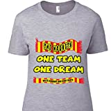 MagnetsandHangers Watford - One Team - Camiseta para Hombre - 5 Gris gris Medium