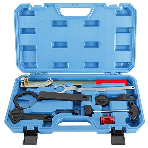 FreeTec 8-TLG Motor Einstell Werkzeug Satz Kompatibel mit VW Skoda Polo Golf Audi A3 1.0 1.2 1.4 1.4T 1.6Tsi Tfsi