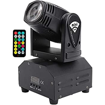 HSL Mini Movers Lights, Moving Head DJ Lights 4In1 DMX512 Moving Lights Package, Remote DJ light Moving Head Beam Light,for Club Dance Lights,Disco Light Party
